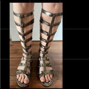 Colin Stuart Gladiator Sandals, size 8